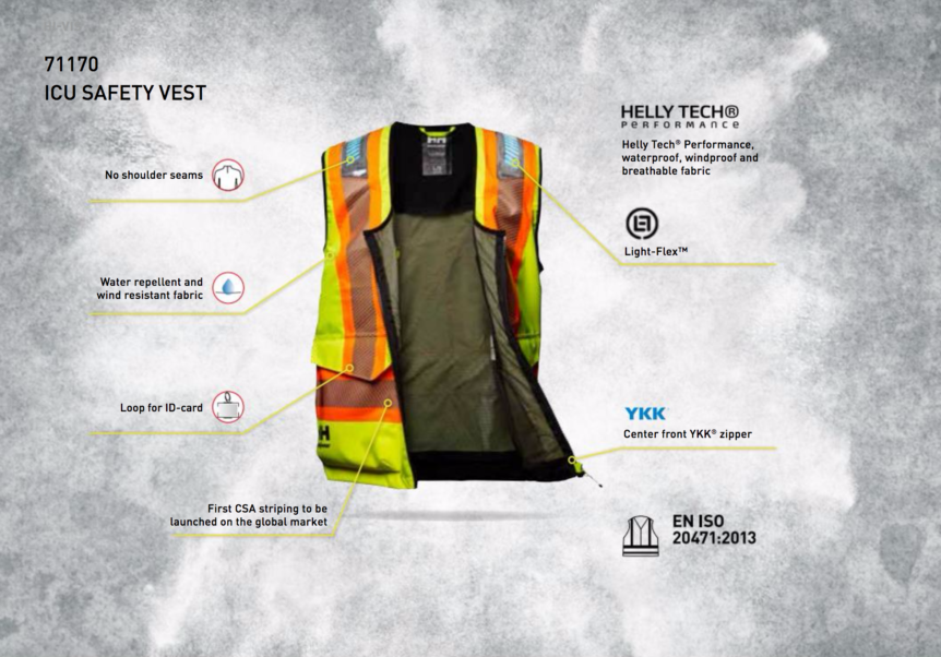 Helly Hansen - ICE SAFETY VEST - with LighFlex