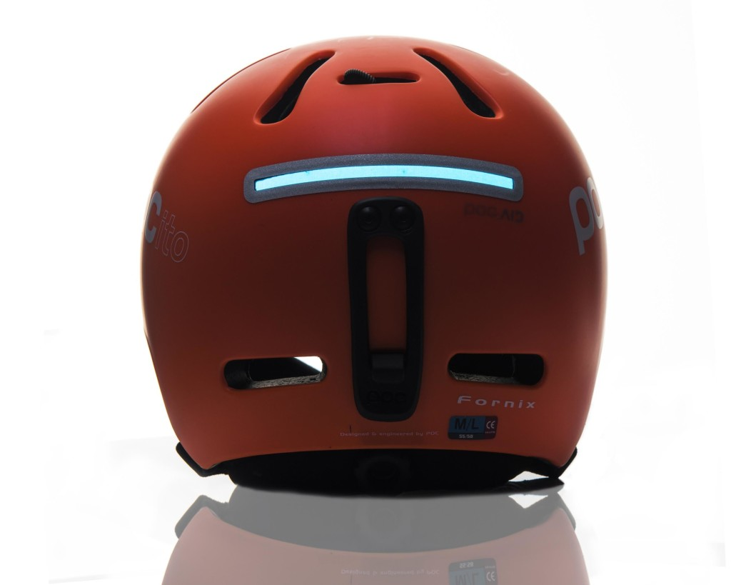 POCito helmet with in-mold Light Flex technology