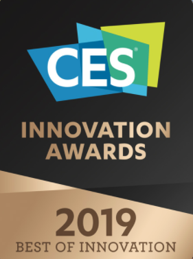 Light flex is is nominated at the annual CES Innovation Awards 2019 together with Scani