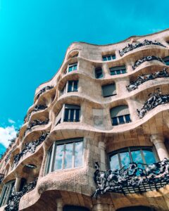 Gauide House in Barcelona.